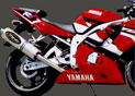 Silencieux Superline YZF R1 1998/1999 Big Oval Titane
