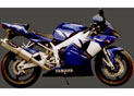 Silencieux Superline YZF R1 2002/2003 Big Oval Titane